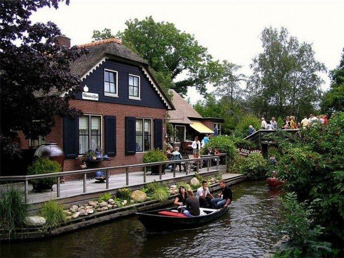 Деревня Гитхорн - Голландская Венеция, фото 1