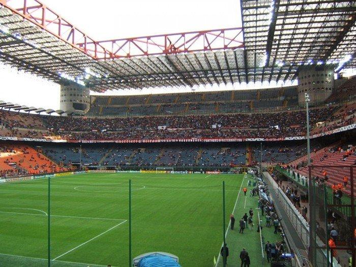 Найбільші стадони Європи для футболу - Мілан