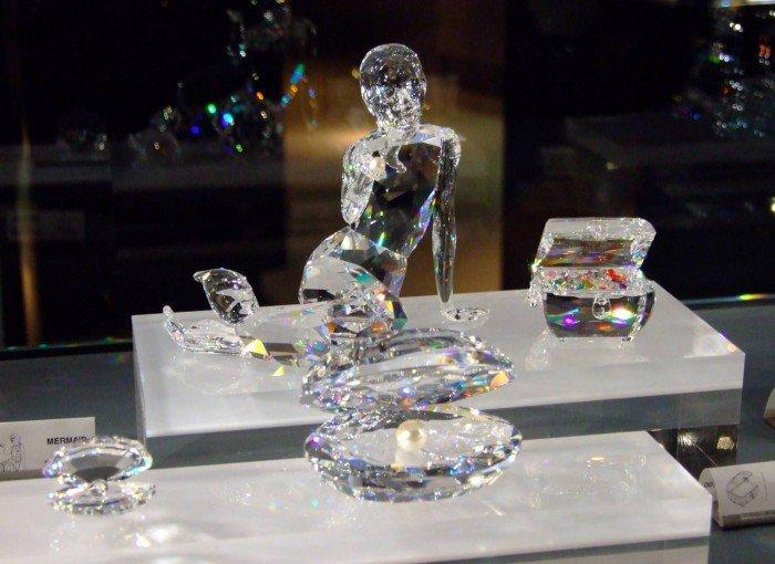 Музей Сваровскі в Австрії, фото 3 - крамниця кристалів