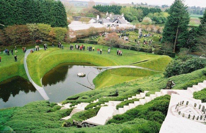 Самые красивые сады мира, фото - Парк космических размышлений, Шотландия