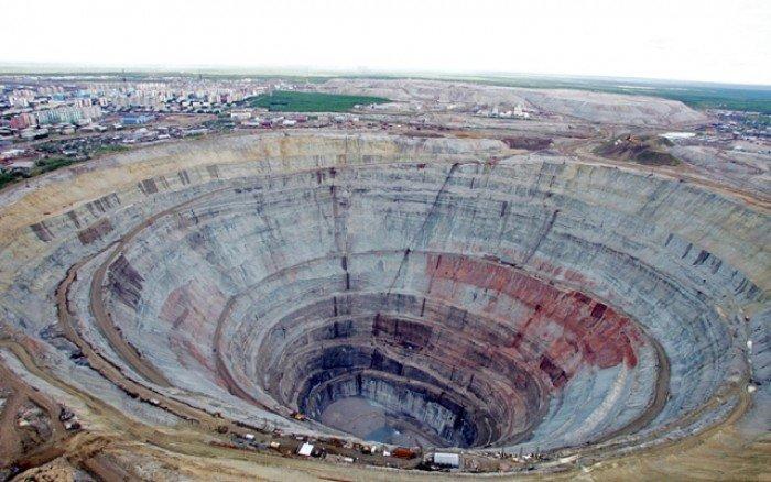 Алмазный карьер, Мирный (Якутия) - фото 5