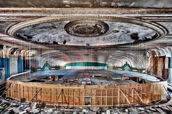 Заброшенные и таинственные места Земли, фото - Театр Лондейл, Чикаго
