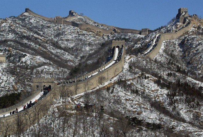 Всемирное наследие ЮНЕСКО, фото - Великая Китайская стена