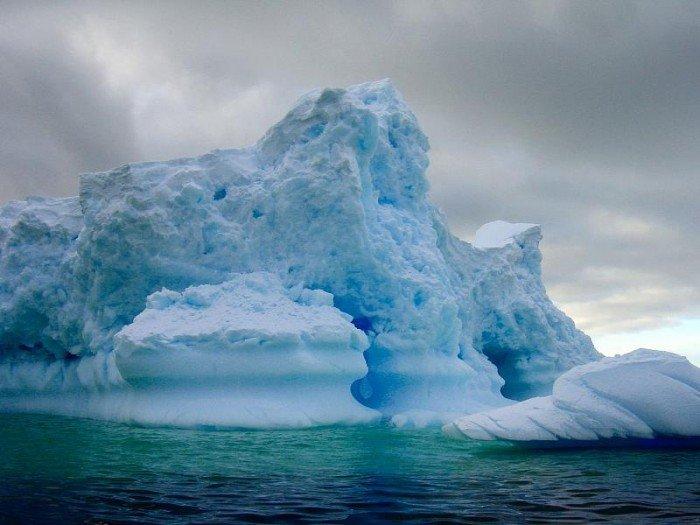 Тайны Антарктиды - айсберги