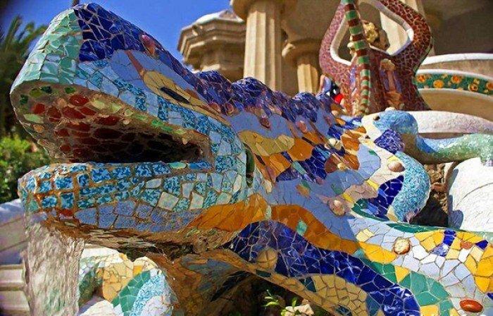 Парк Гуеля в Барселоні - фото 6