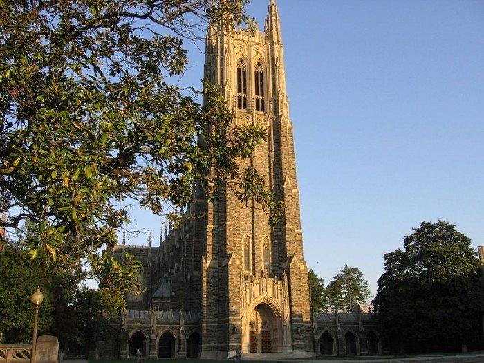 Знаменитые университеты мира, фото - Университет Дьюка