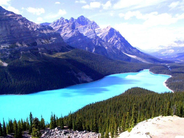Найкрасивіші озера світу, фото - Пейто