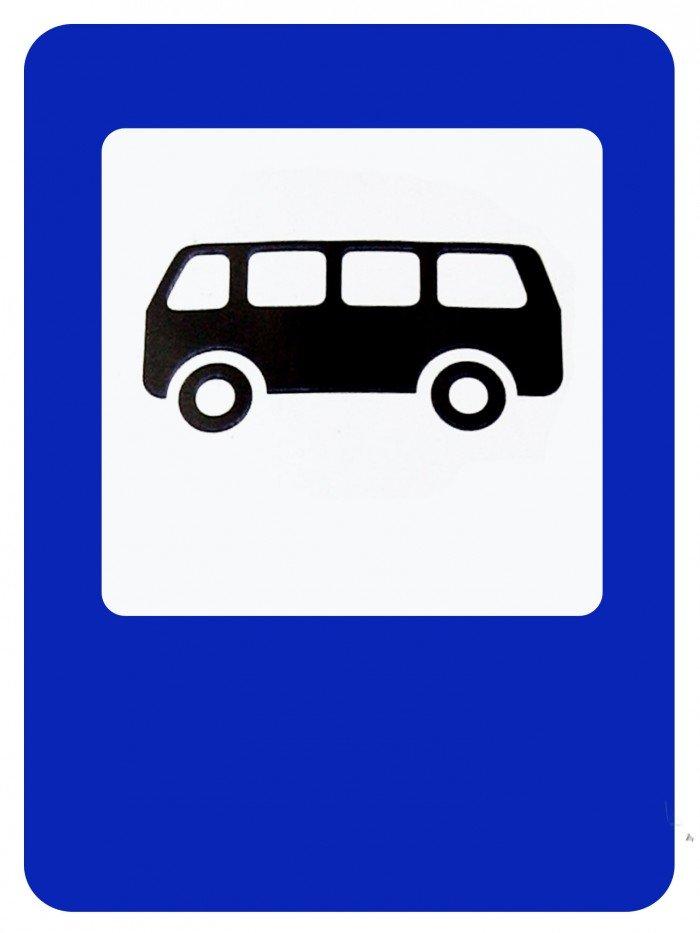 Остановка автобуса знак