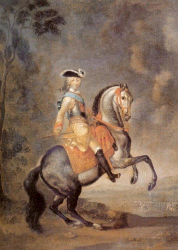 Русский император Петр III (1728-1762). Картина Георга Христофора Гроота