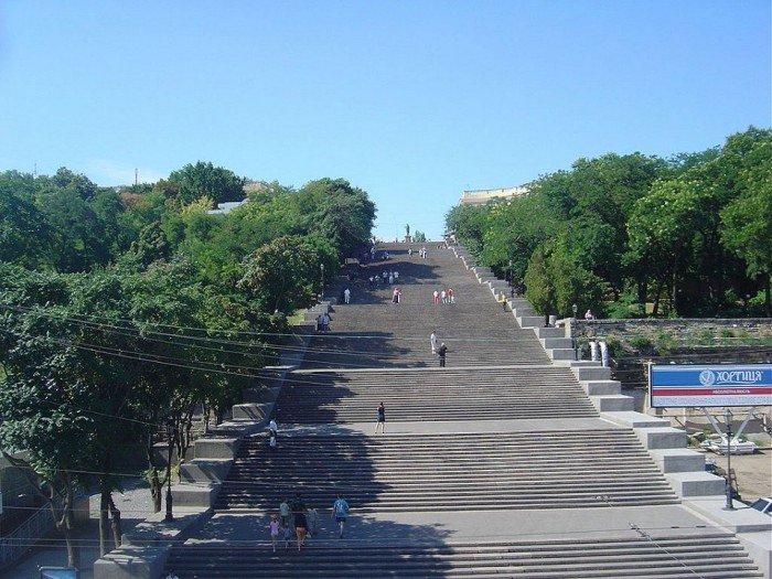 Известные лестницы мира. Необычная лестница в Украине