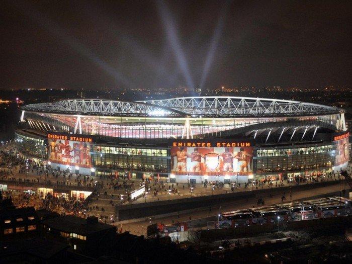 Найбільші стадони Європи для футболу - Лондон