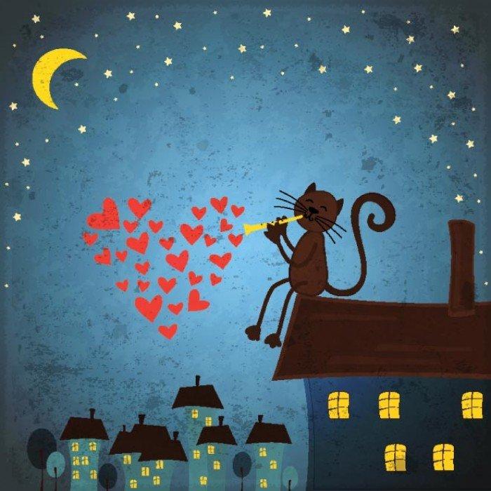 Котенок рыжик мультфильм