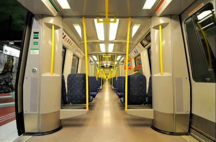 Красиві станції метро в Стокгольмі, фото 32