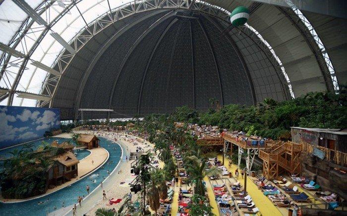 """Самый большой аквапарк в мире """"Тропические острова"""" (Германия), фото 10"""