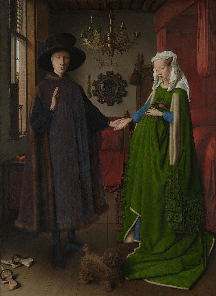 Картина Яна ван Эйка «Портрет четы Арнольфини»