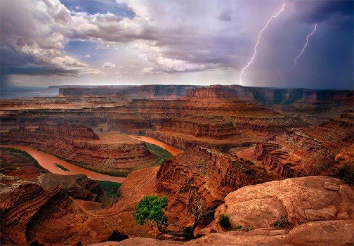 Красивые пейзажи природы. Фото - США, Национальный парк в Юте