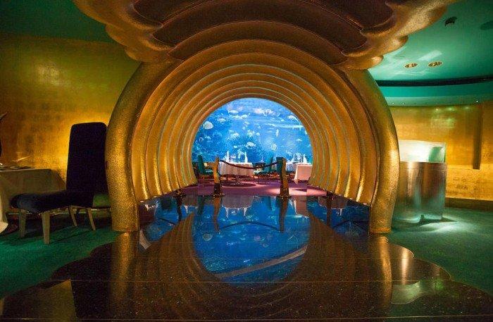 Ресторан акваріум «Аль Махара» в Дубаї, фото 11