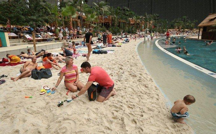 """Самый большой аквапарк в мире """"Тропические острова"""" (Германия), фото 3"""