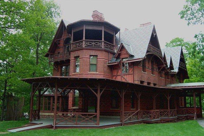 Дом Марка Твена в Хартфорде