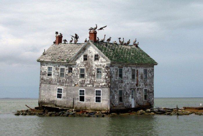 Заброшенные и таинственные места Земли, фото - Голландский остров в Чесапикском заливе