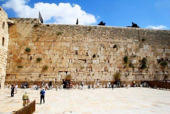 Місця в світі, де загадують бажання - Стіна Плачу, Ізраїль