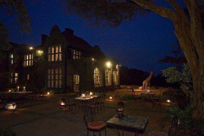Жирафы Ротшильда, отель Giraffe Manor в Найроби (Кения) - фото 13