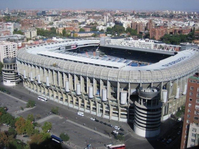 Найбільші стадони Європи для футболу - Іспанія