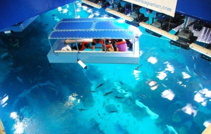 Самые большие аквариумы в мире - Дубай, фото 7
