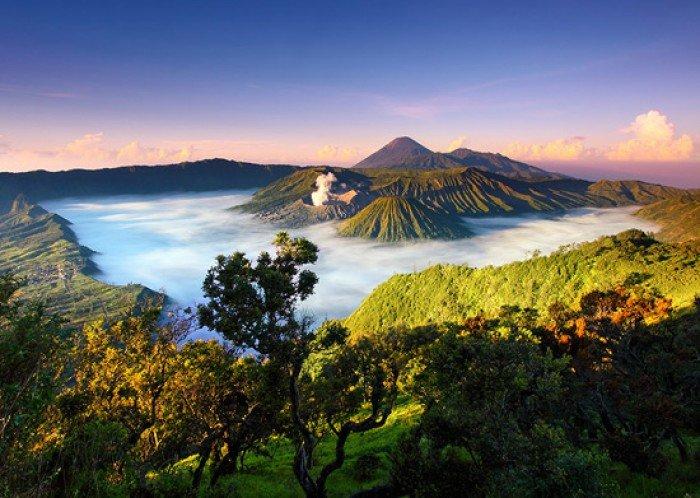 Красивые пейзажи природы. Фото - Индонезия, Национальный парк