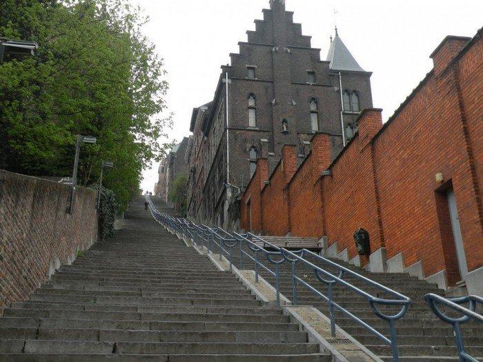 Известные лестницы мира. Необычная лестница в Бельгии