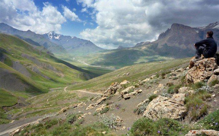 Красивые пейзажи природы. Фото - Азербайджан