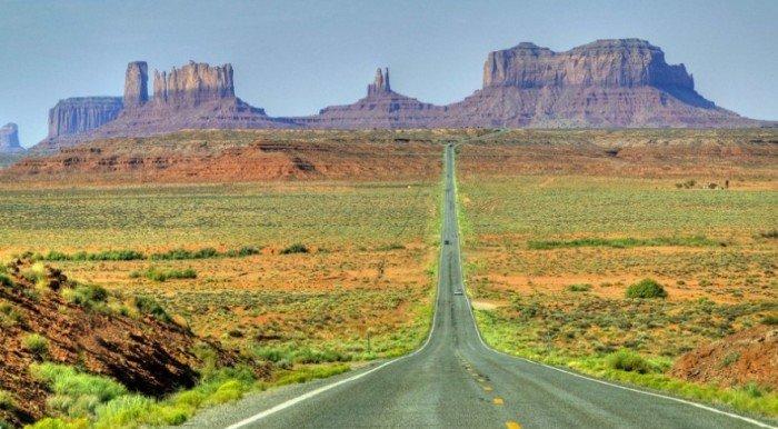 Найкрасивіші дороги світу - Траса 163, Долина Монументів