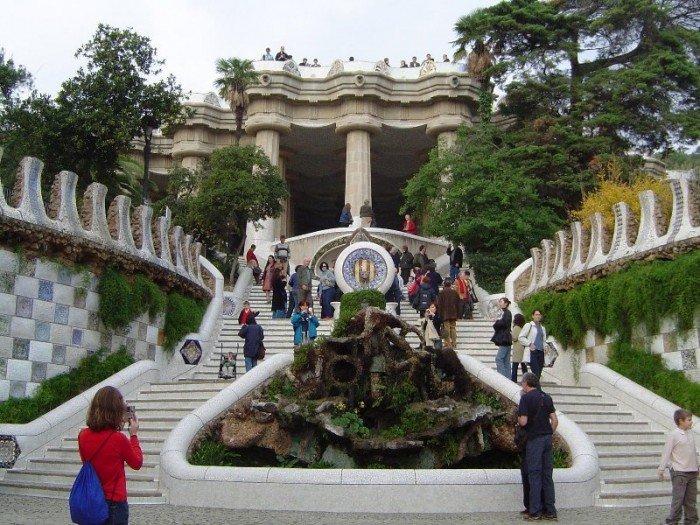 Парк Гуеля в Барселоні - фото 5