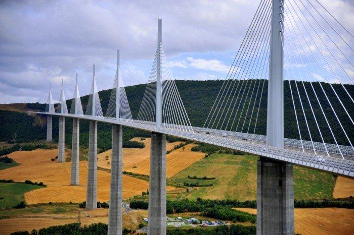 Найкрасивіші дороги світу - Міст Мійо, Франція