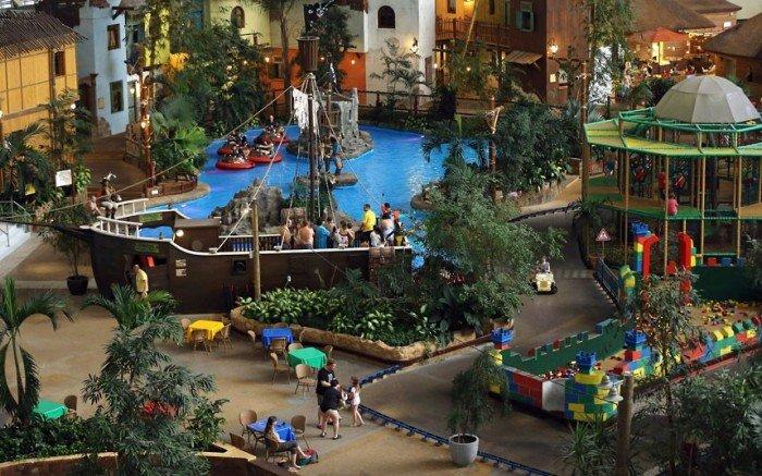 """Самый большой аквапарк в мире """"Тропические острова"""" (Германия), фото 15"""