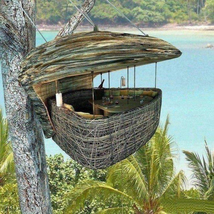 Ресторан-гнездо в Таиланде, фото 1