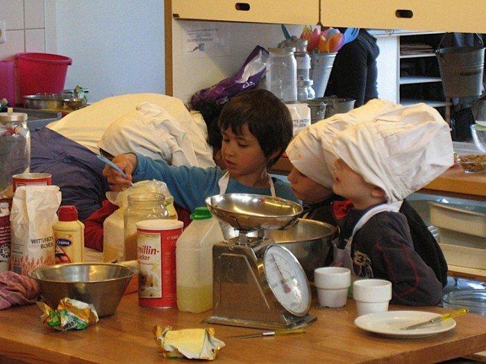 Незвичайний ресторан у Амстердамі - дитяче кафе «Kinderkookkafe», фото 8