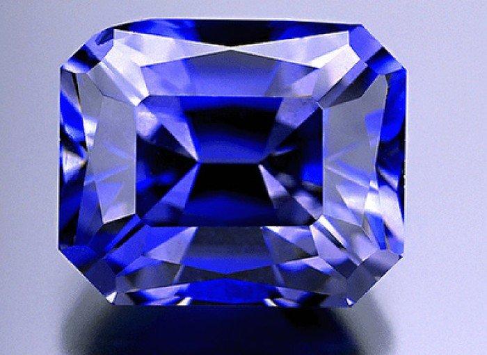 Самые редкие драгоценные камни в мире, фото - синий гранат