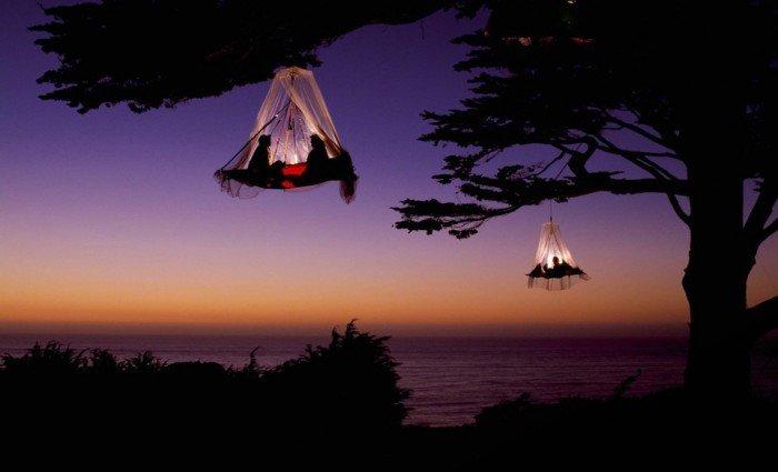 Самые удивительные места на Земле - Кемпинговое Дерево в Элк, Калифорния