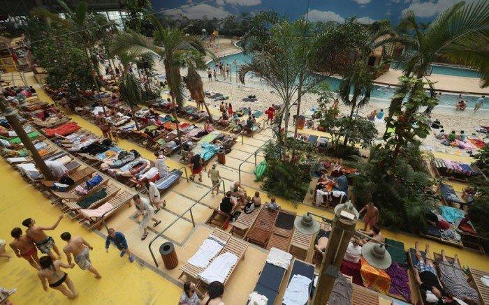 """Самый большой аквапарк в мире """"Тропические острова"""" (Германия), фото 9"""