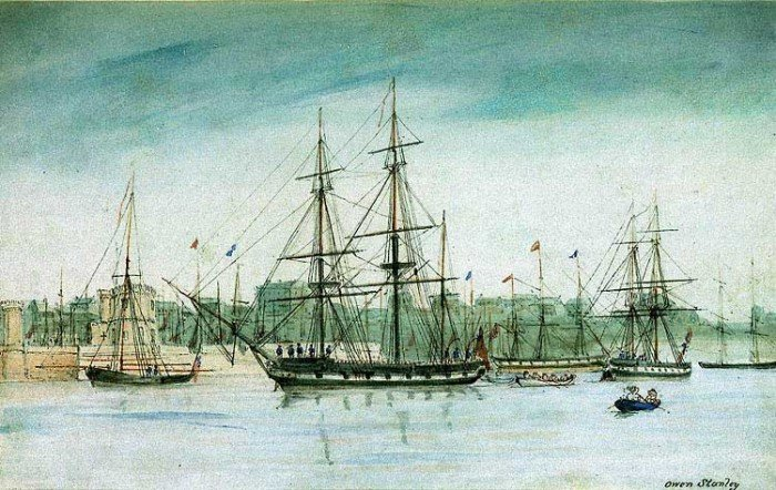 """Чарльз Дарвин – путешествие на корабле """"Бигль"""""""