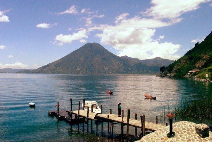 Самые красивые озера мира, фото - Атитлан