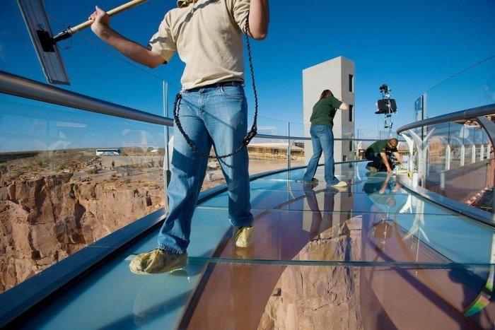 Смотровая площадка Skywalk над Большим Каньоном(США) - фото 6
