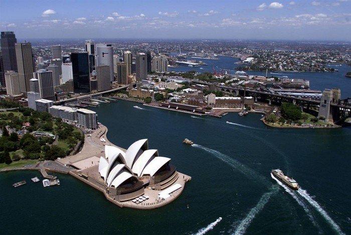 Всемирное наследие ЮНЕСКО, фото - Оперный театр, Сидней