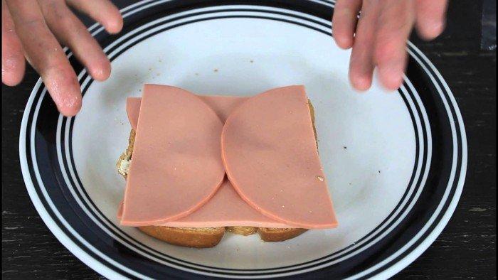 лайфхак с бутербродом