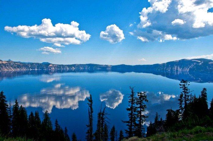 Самые красивые озера мира, фото - Кратер