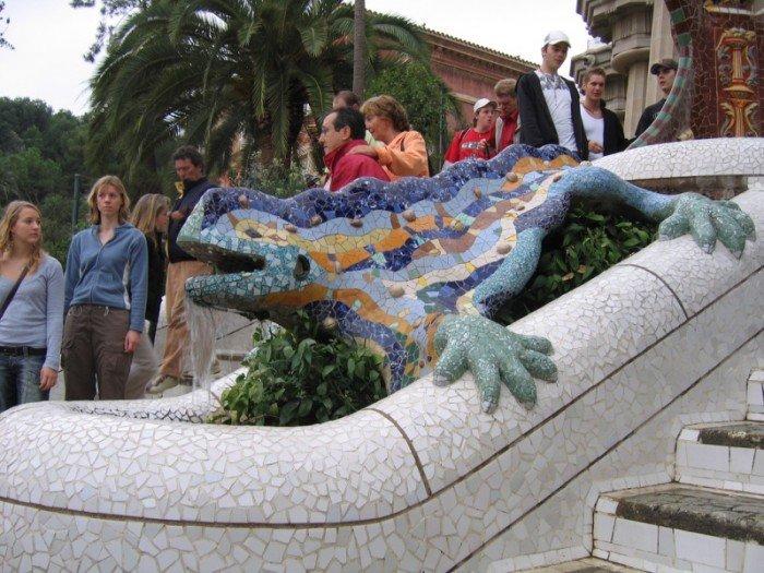 Парк Гуеля в Барселоні - фото 7