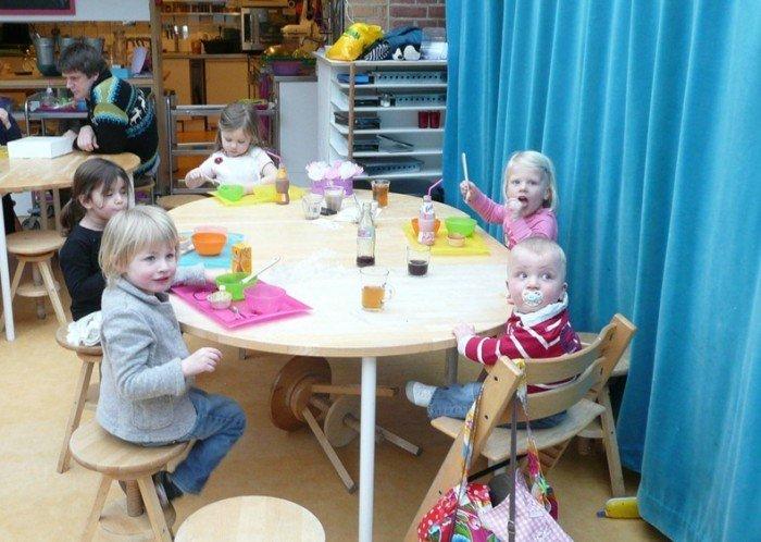 Незвичайний ресторан у Амстердамі - дитяче кафе «Kinderkookkafe», фото 5