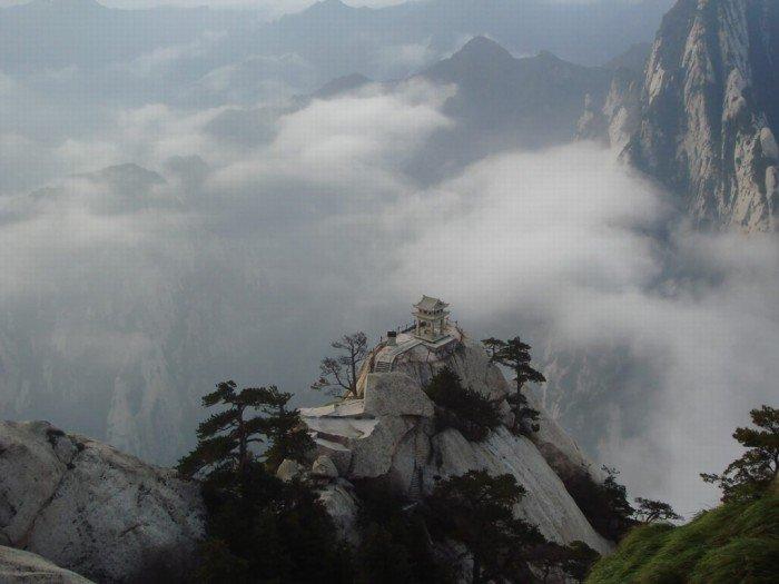 """""""Тропа смерти"""" в Китае - самая страшная тропа в мире. Фото 11"""