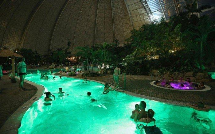 """Самый большой аквапарк в мире """"Тропические острова"""" (Германия), фото 8"""
